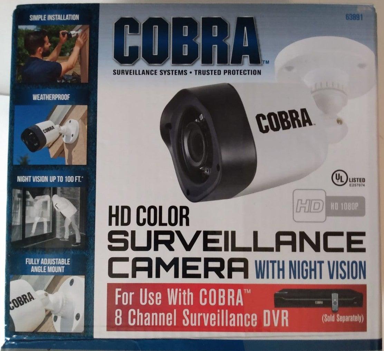 Cobra H.D. color surveillance camera