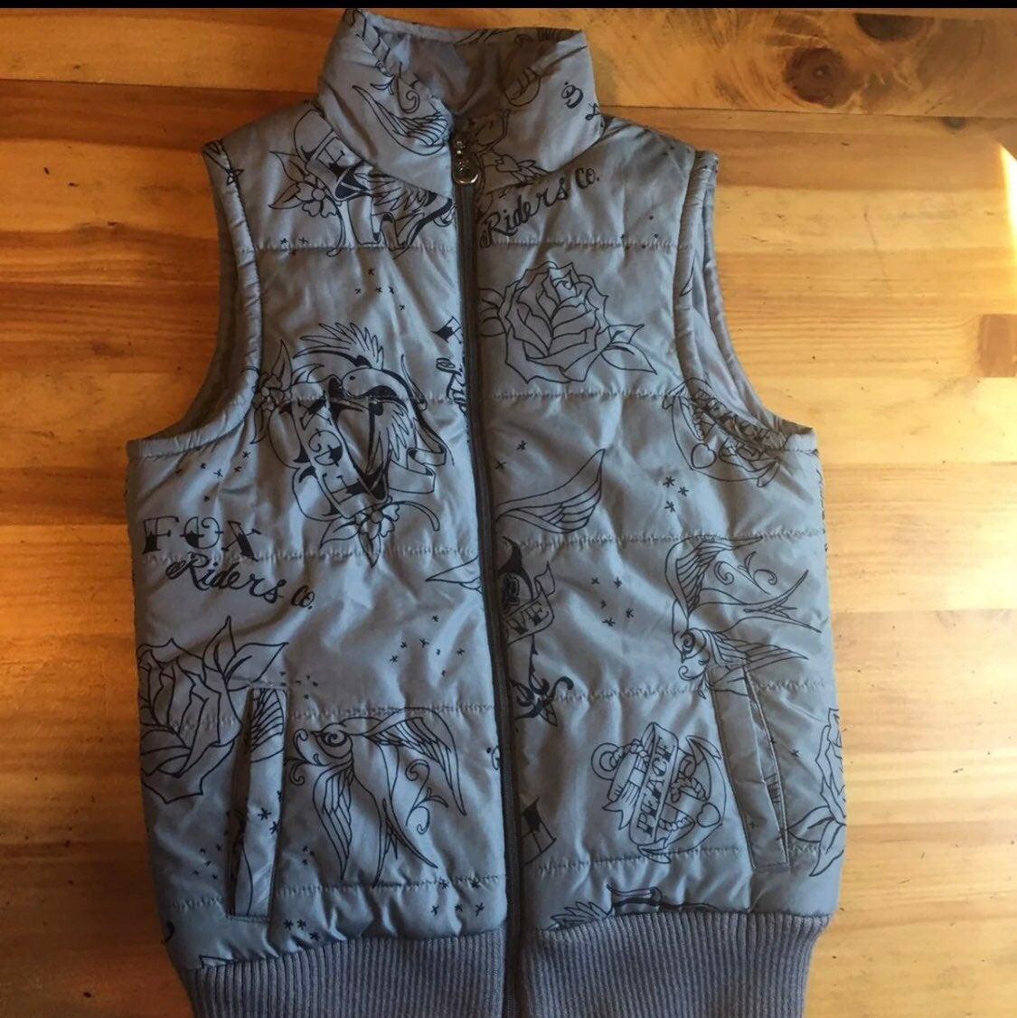 Fox Racing puffer vest