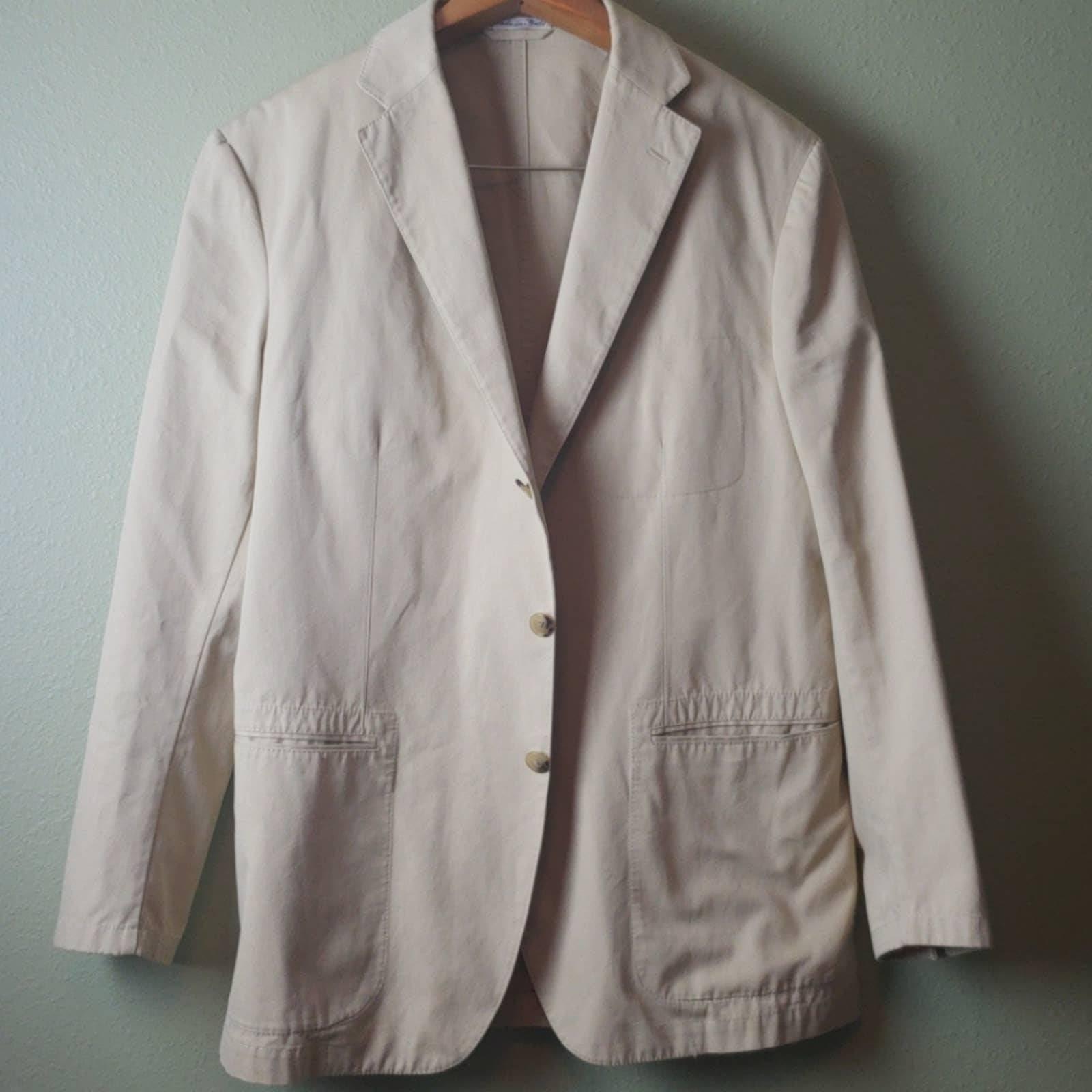 Belvest Cotton Sport Coat