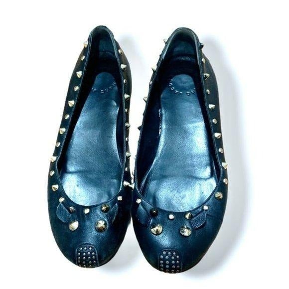 MARC JACOBS Studded Mouse Ballet Flats