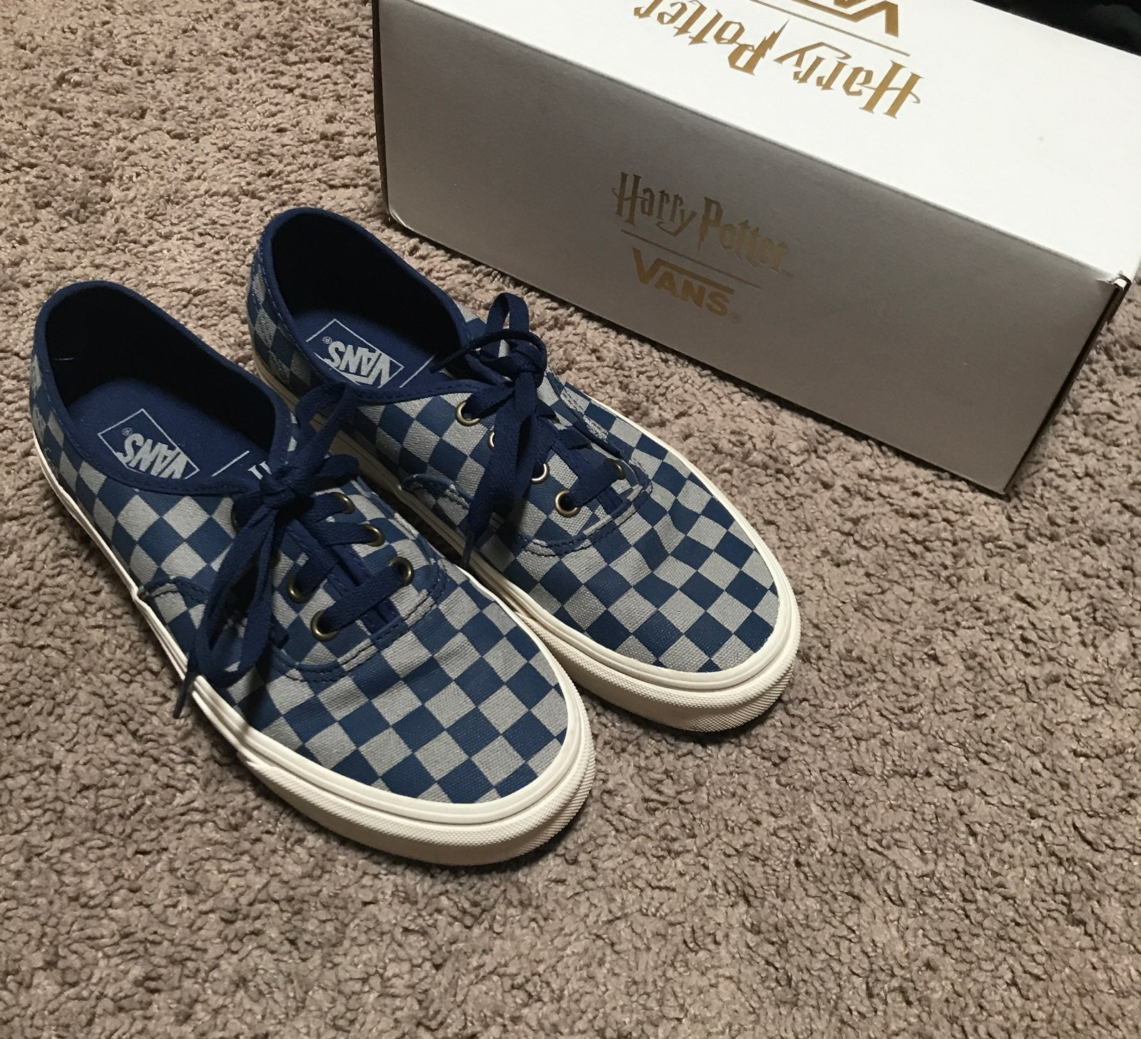 Vans Harry Potter Ravenclaw Checkerboard