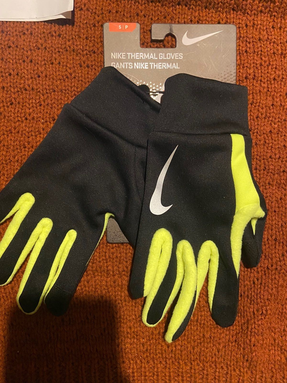Nike Thermal Gloves Conductive Fingers