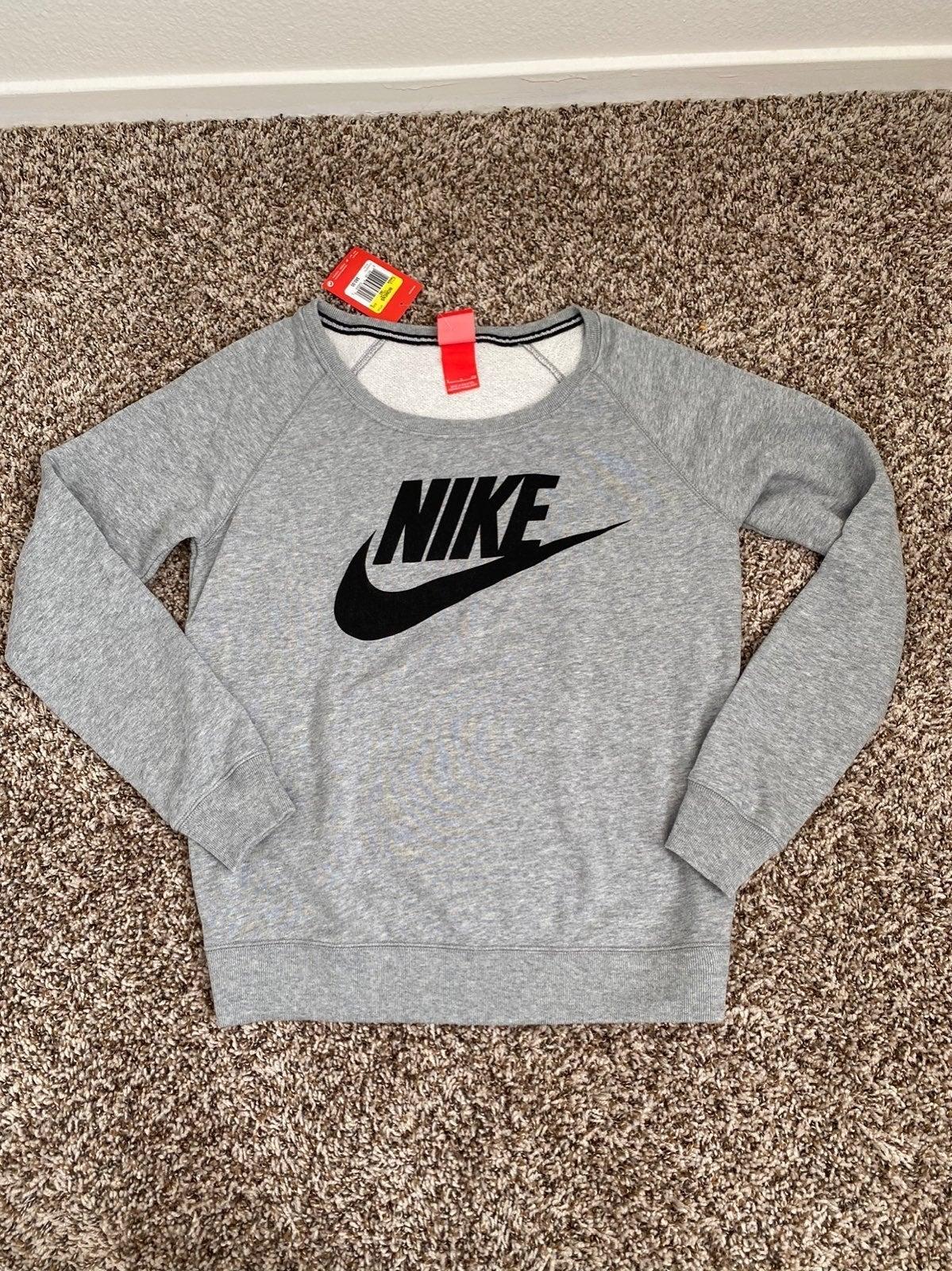 Nike Womens Sweatshirt Grey Small