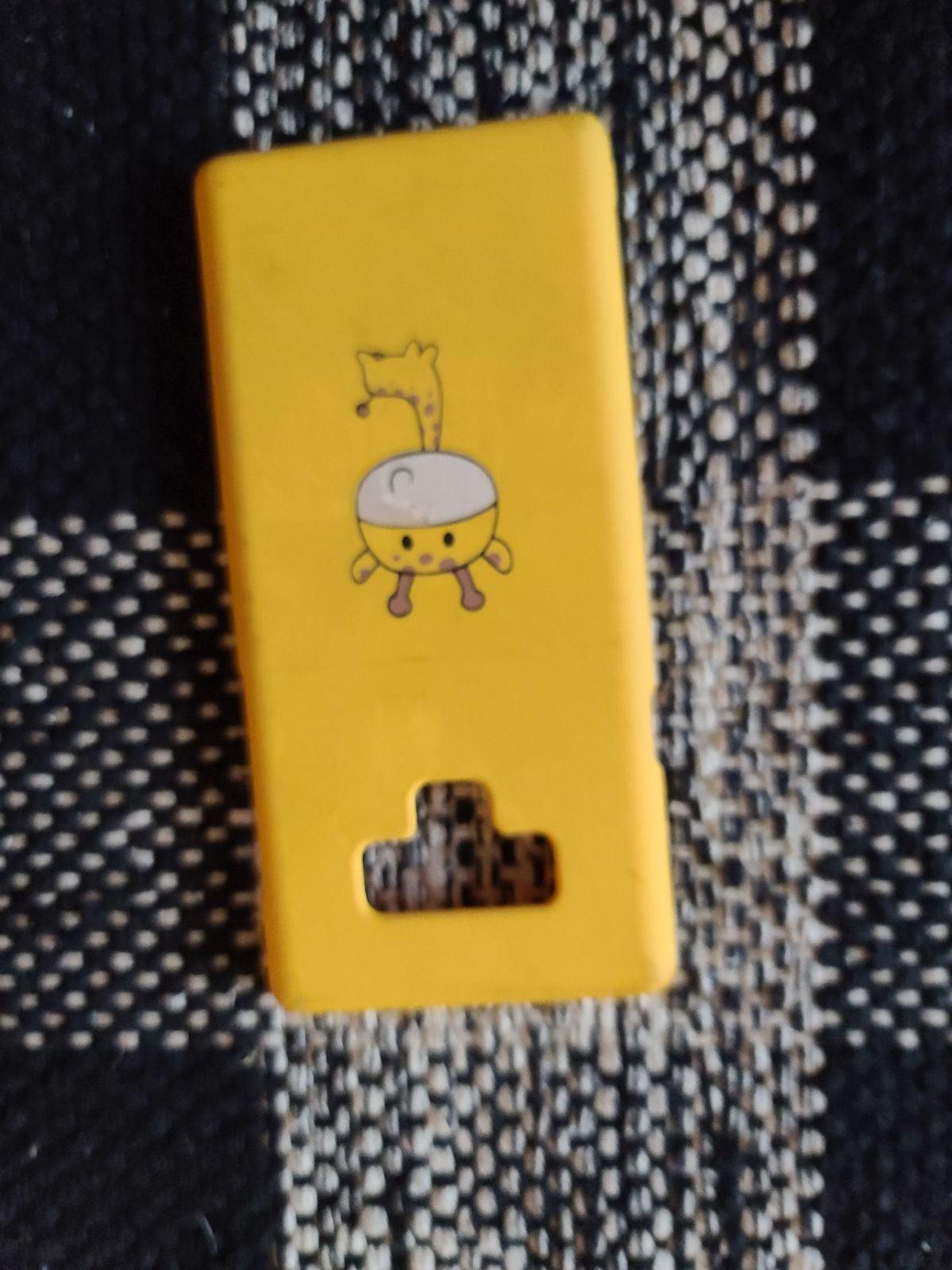 Yellow Giraffe phone case
