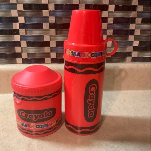 Crayola Insulated Containers Set