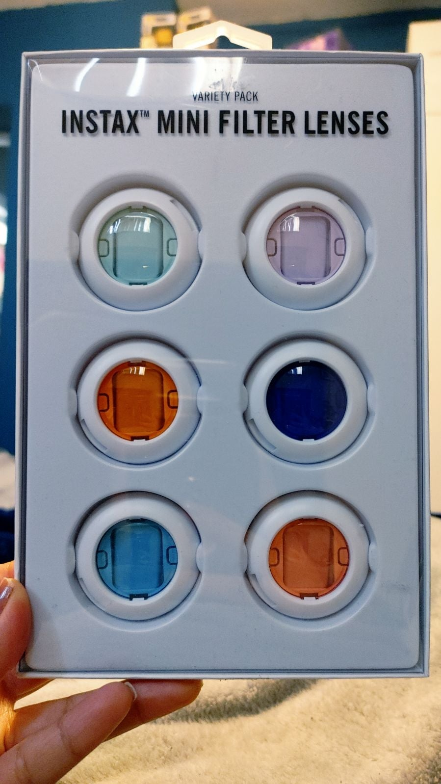Instax mini filter lenses
