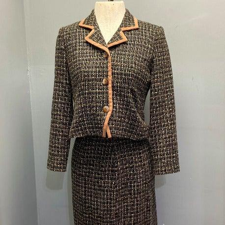 Vintage Henry Lee Petites Skirt Blazer