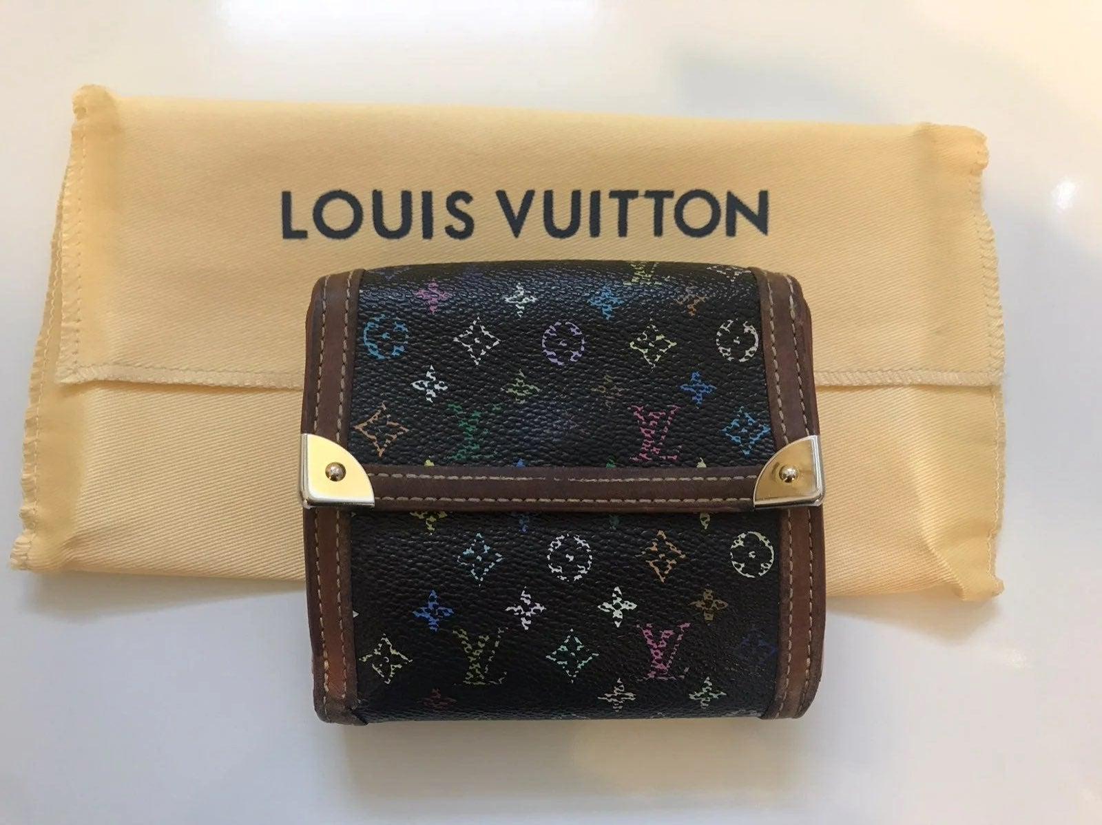 Louis Vuitton Multicolor Noir Wallet