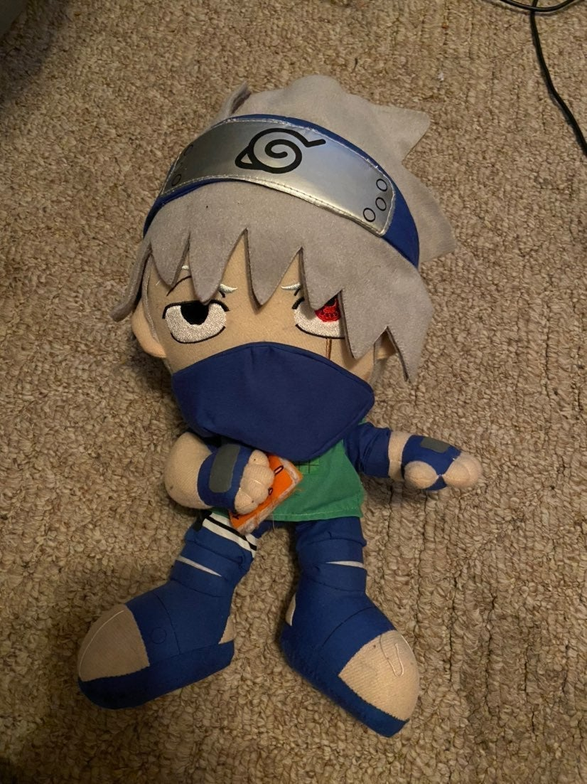 Naruto plushies