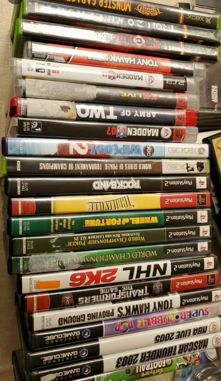 PLAYSTATION 2, PS3, Xbox, XBOX 360, Game