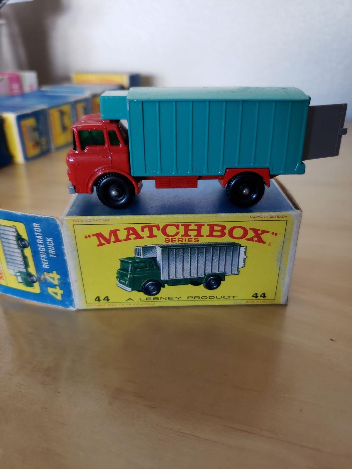 Matchbox Car Refrigerator Truck