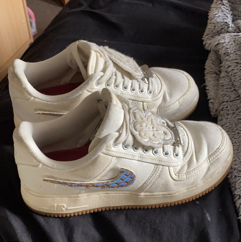 Nike Travis Scott x Air Force 1 Sail/Gum