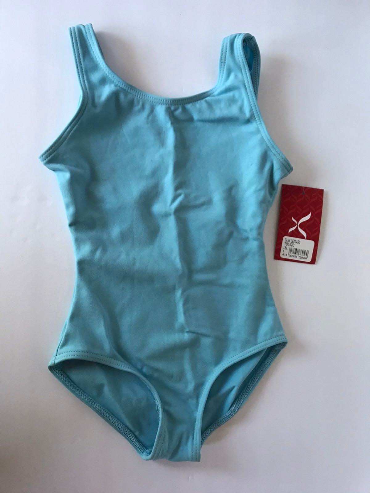 Capezio Girls' Swimsuits Tank Leotard