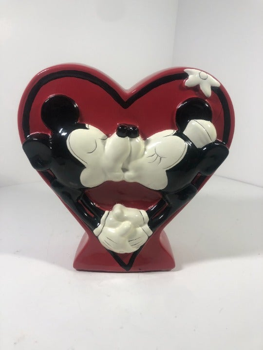 Disney mickey and minnie piggy bank