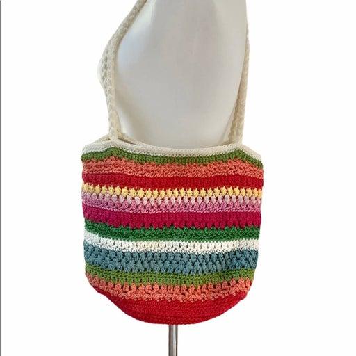 Croft & Barrow crochet knit bag