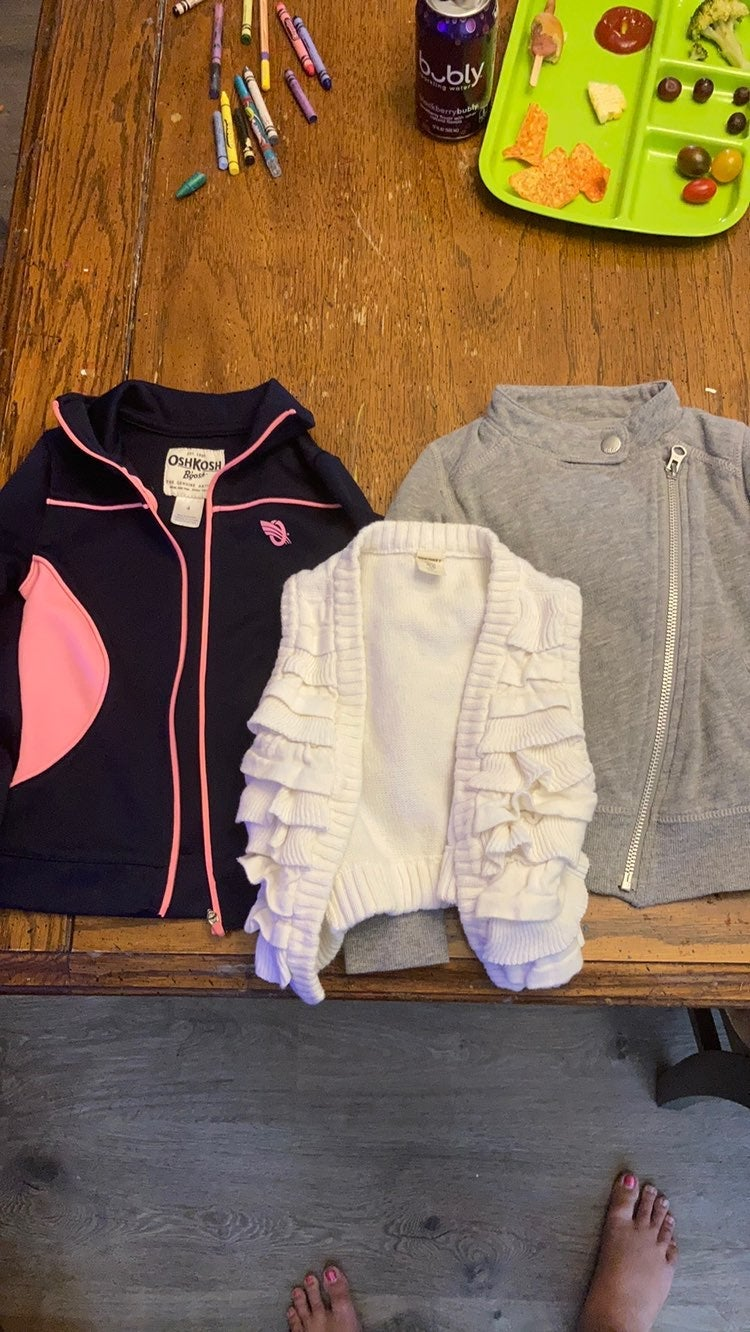 Girls Sweater/Sweatshirt bundle