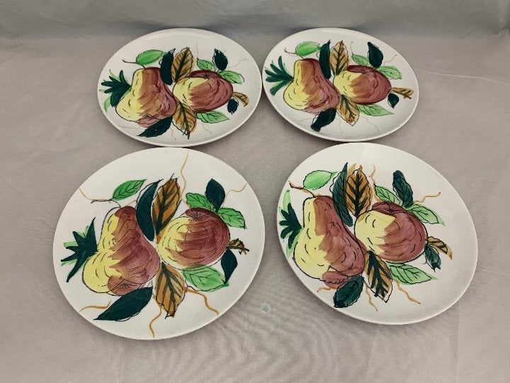 4 Ironstone by Royal Sealy Japan Plates