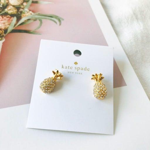Kate Spade Pineapple Stud Earrings