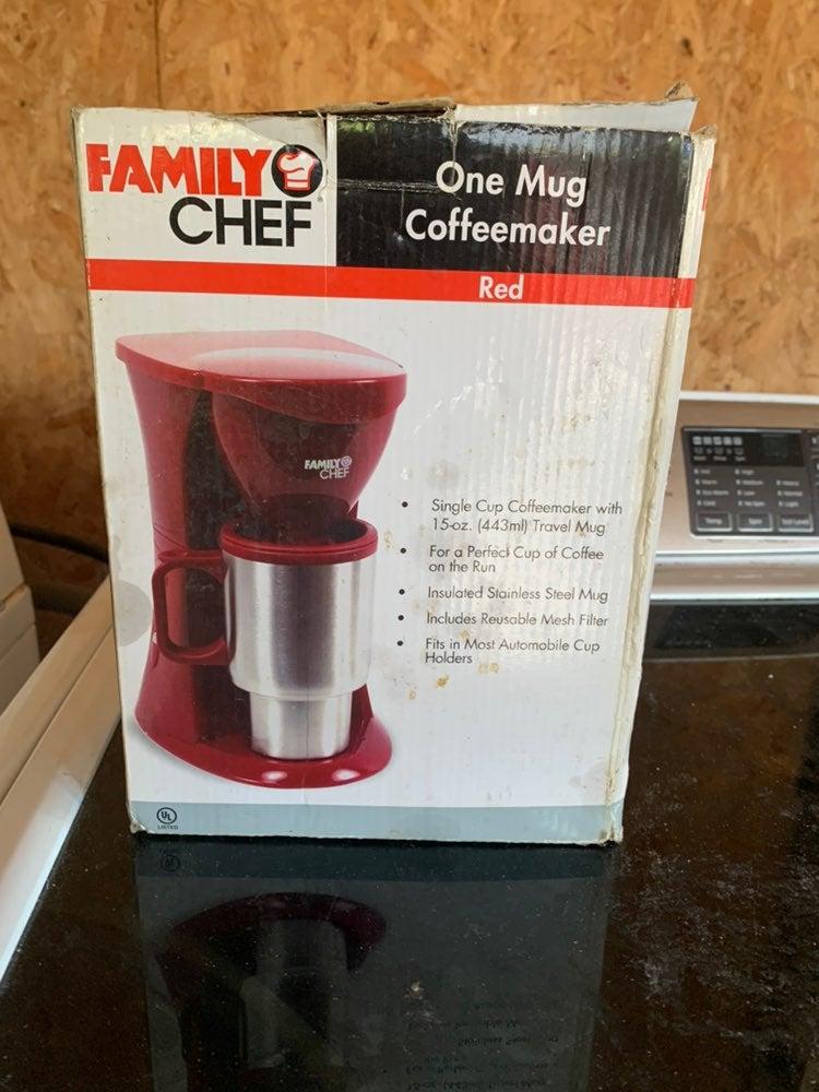 One mug coffe maker