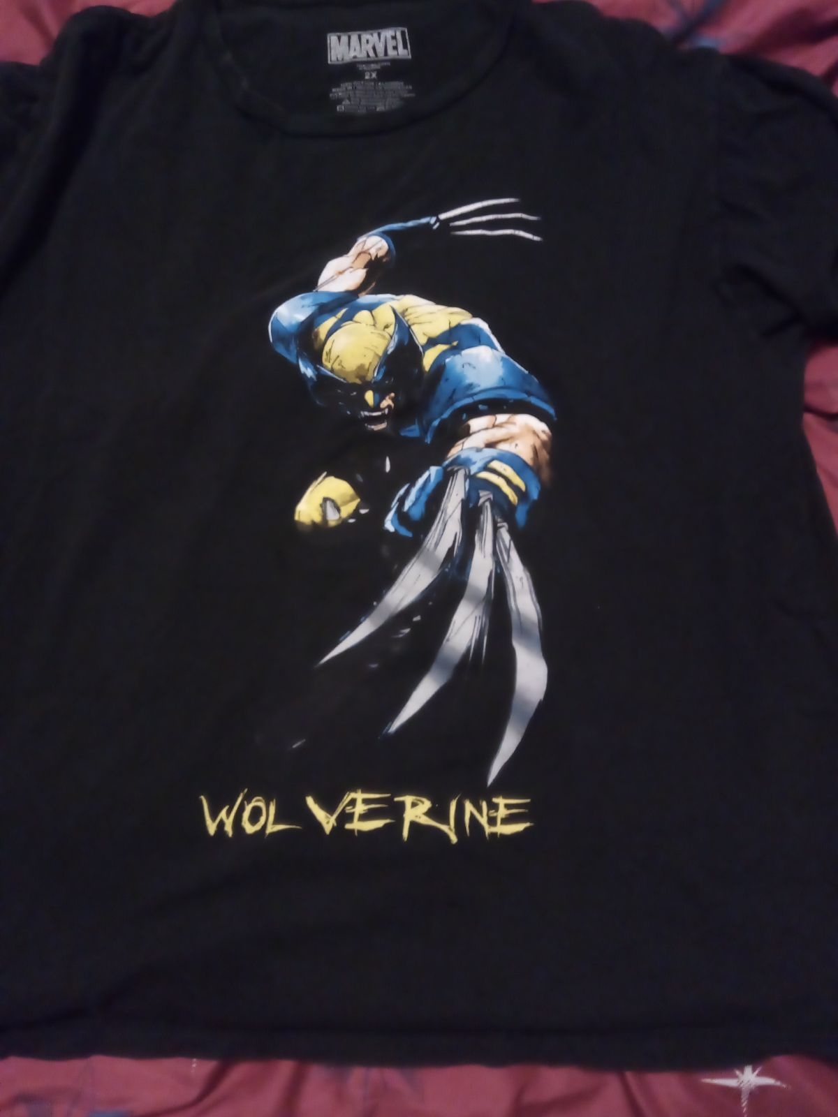 Men's Marvel Wolverine Shirt