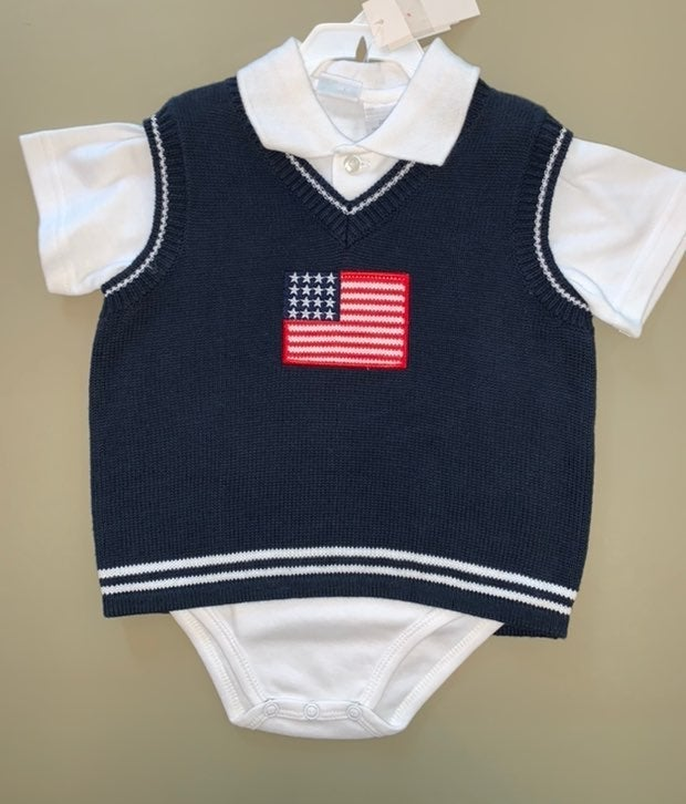 NWT vtg KRU Baby Sweater and Polo shirt