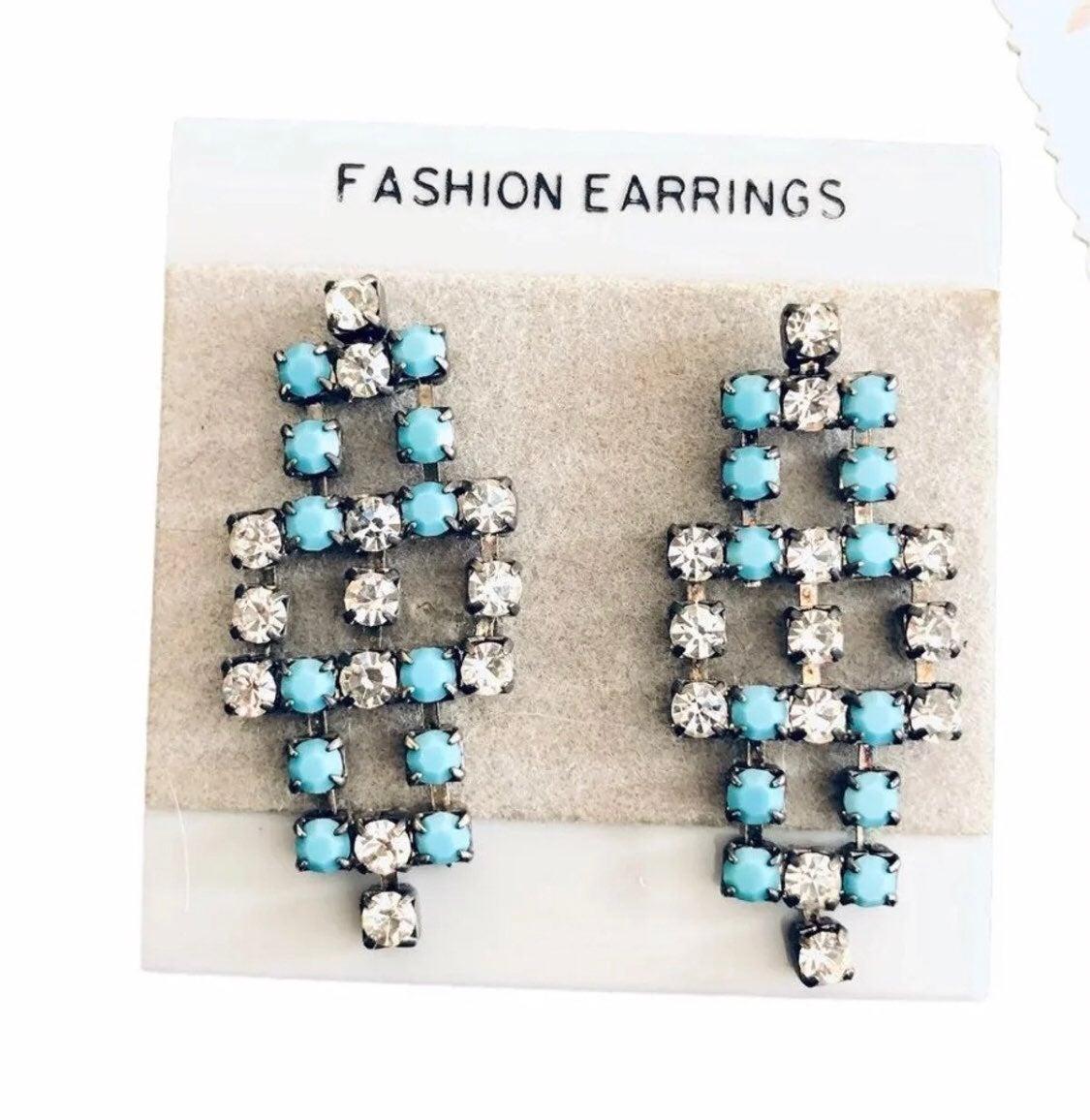 Vintage turquoise Earrings - new