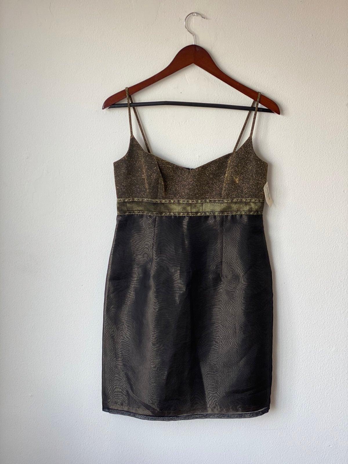 Vintage 90s Laundry Dress Sz 6P