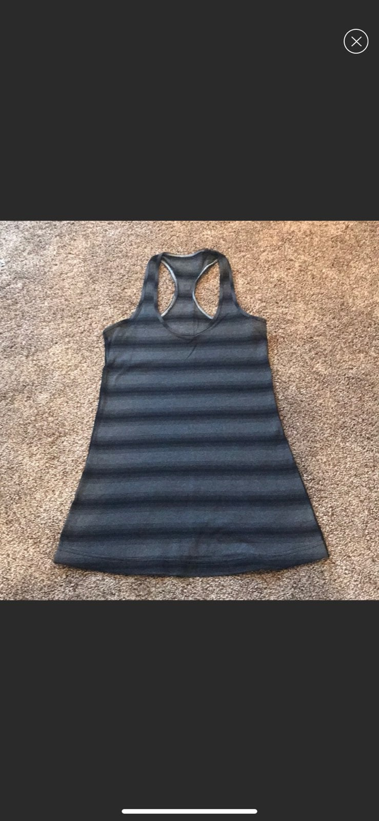 Lululemon CRB in Black and Gray Size 4.