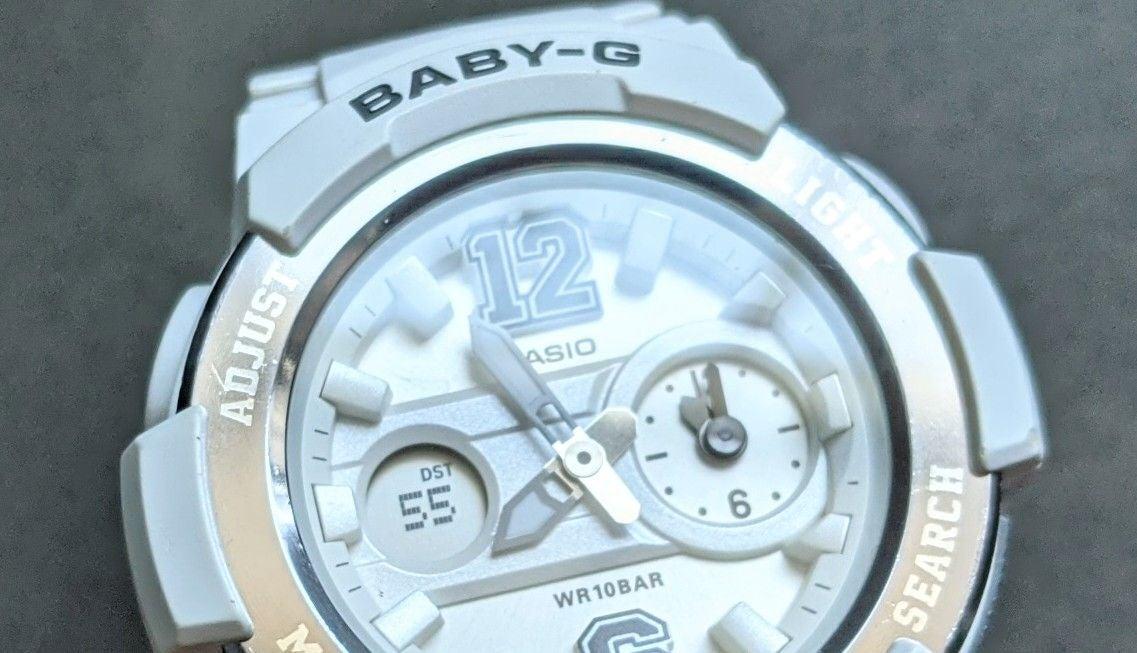 White Baby-G women G-Shock fresh Battery