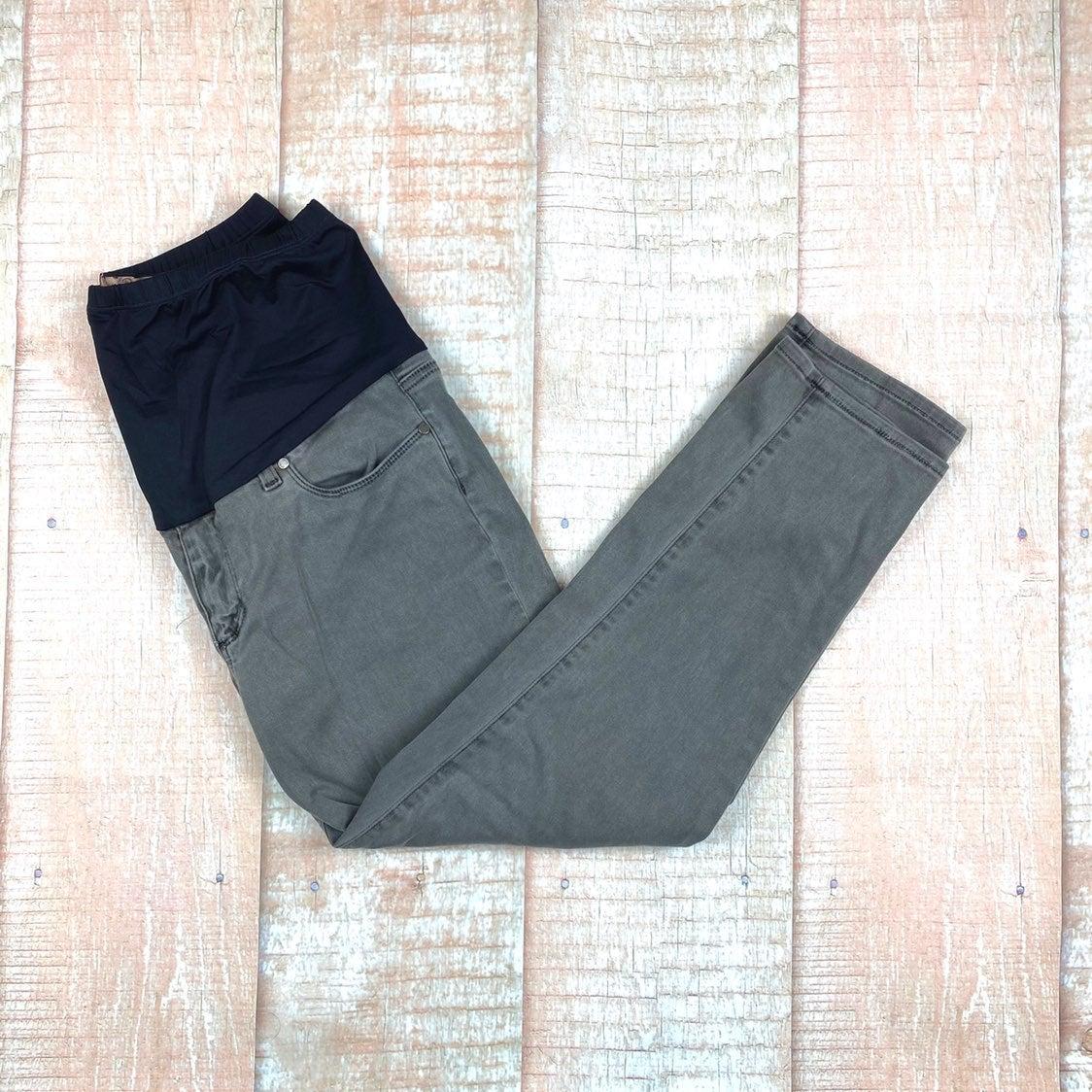 Paige Denim Maternity Jeans- Gray
