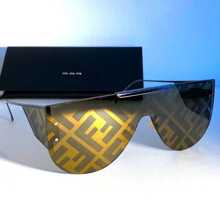 NEW FENDI M0093S Shield Sunglasses