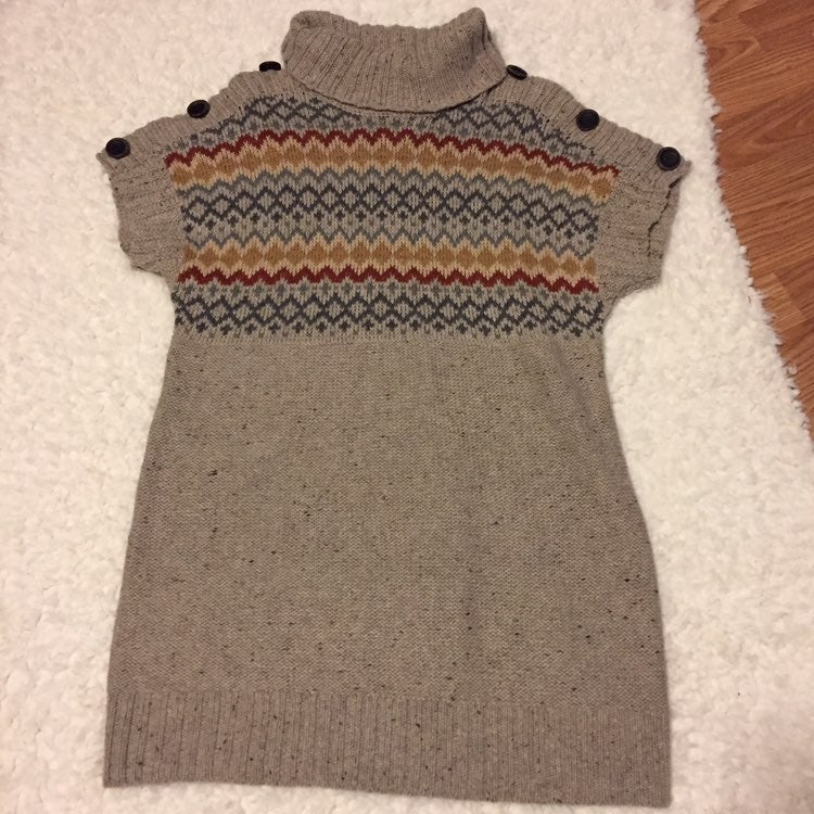 Ruff Hewn wool blend sweater dress large