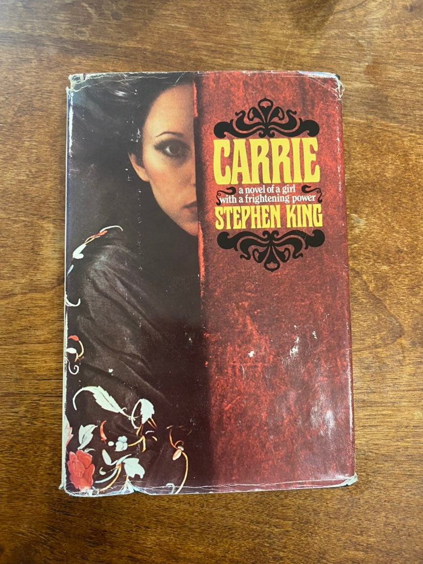 Carrie 1974 Stephen King Hardcover