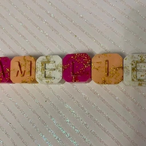 Mini Custom Name Crayon Blocks