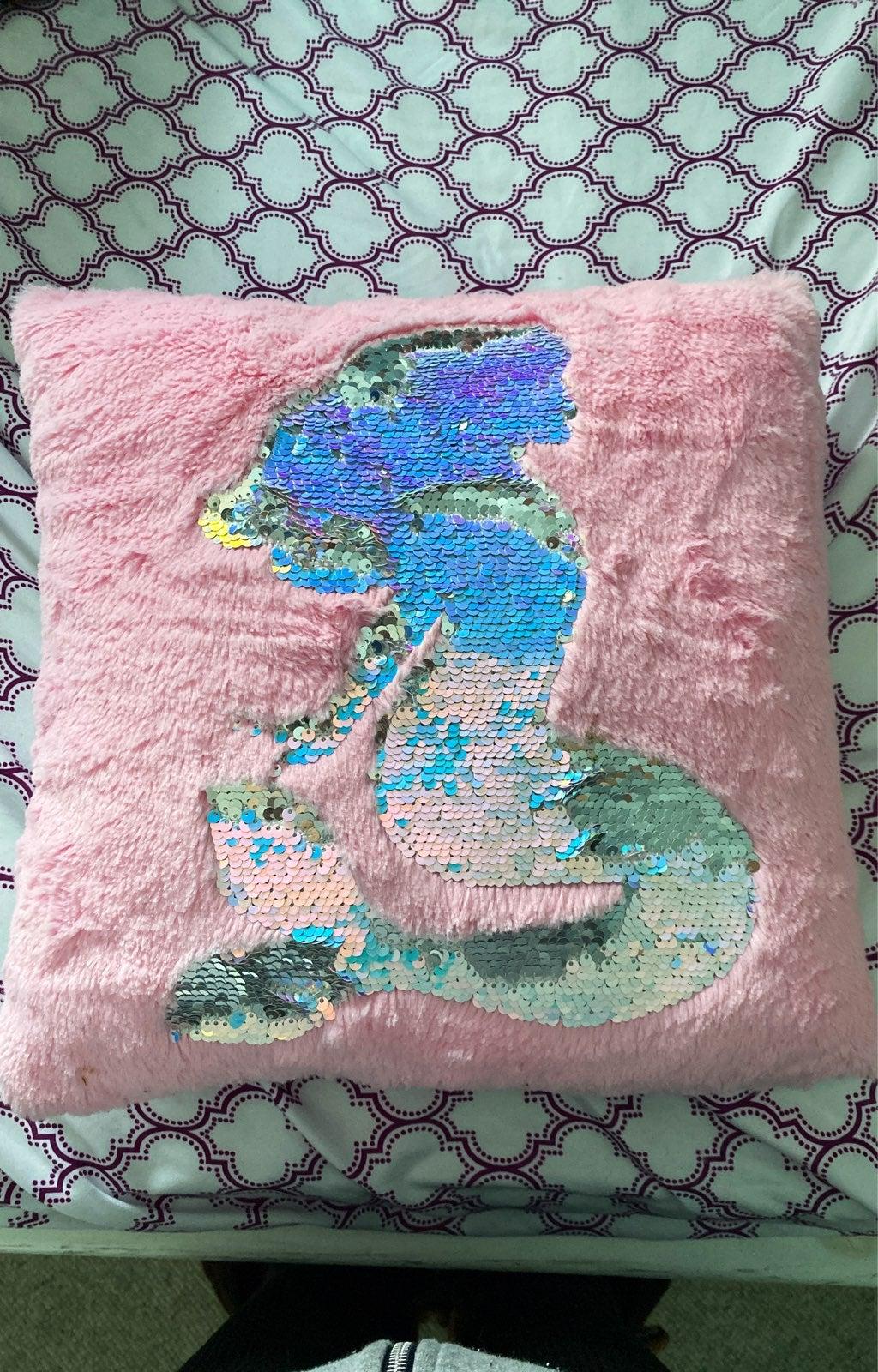 Justice Mermaid pillow