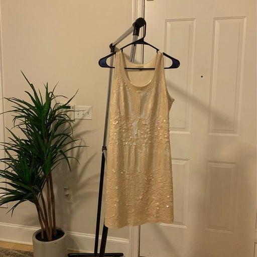 Cremieux sequined dress size Medium