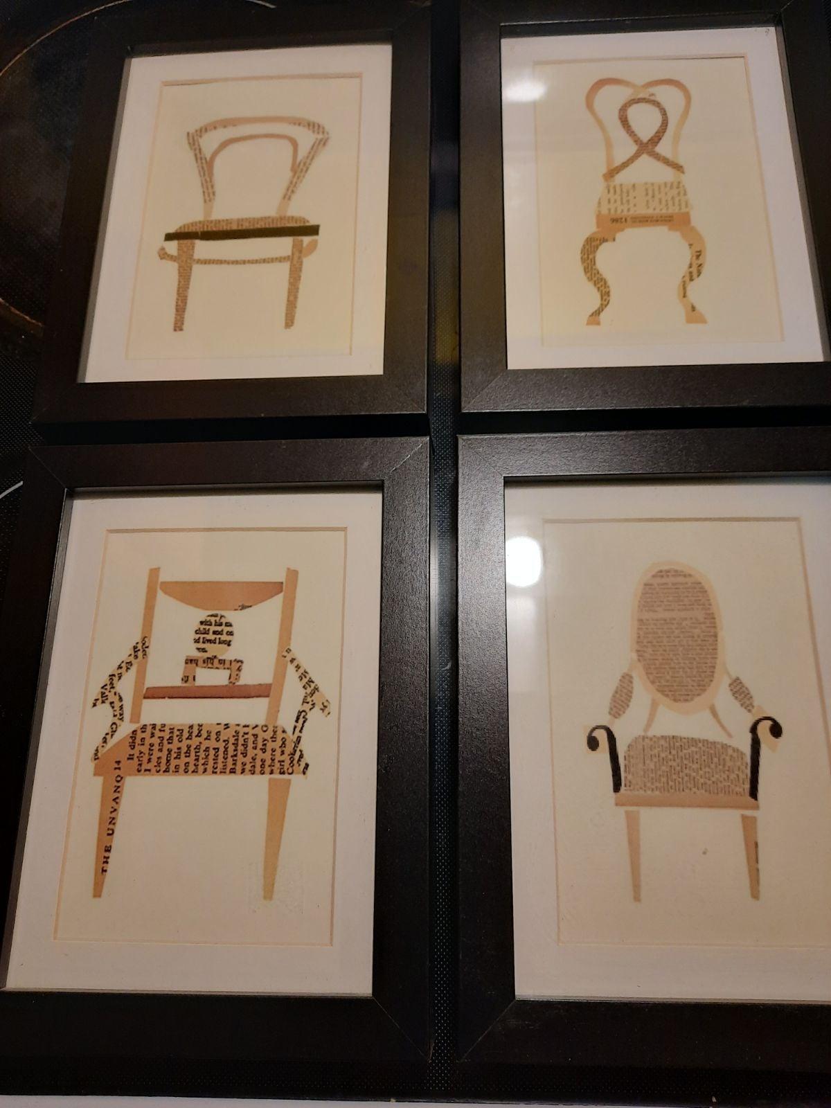 4 chair art photos