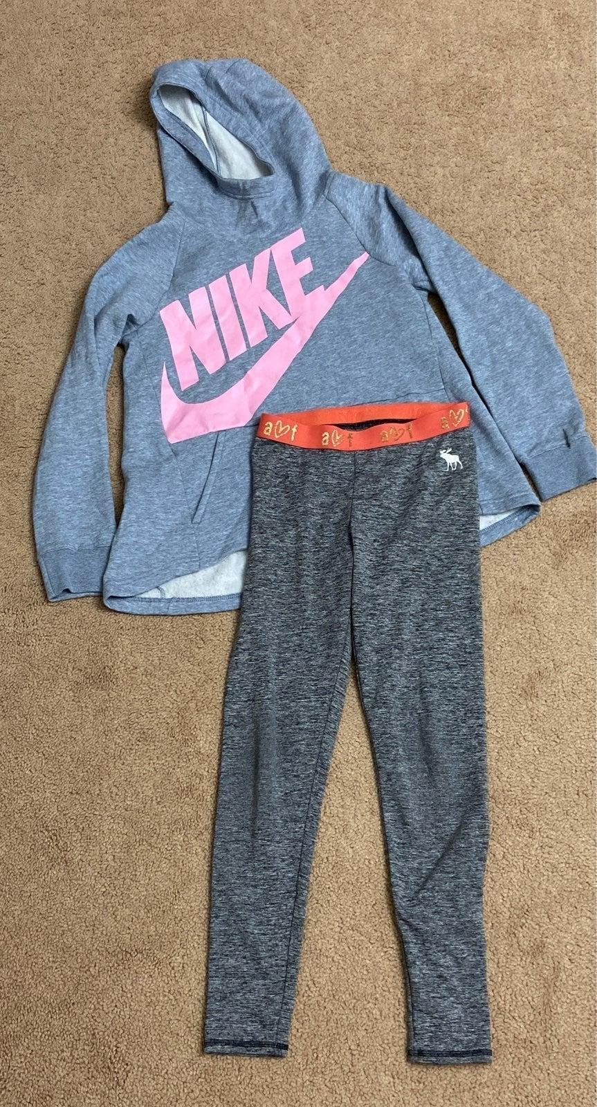 Nike & Abercrombie kids shirt 11/12