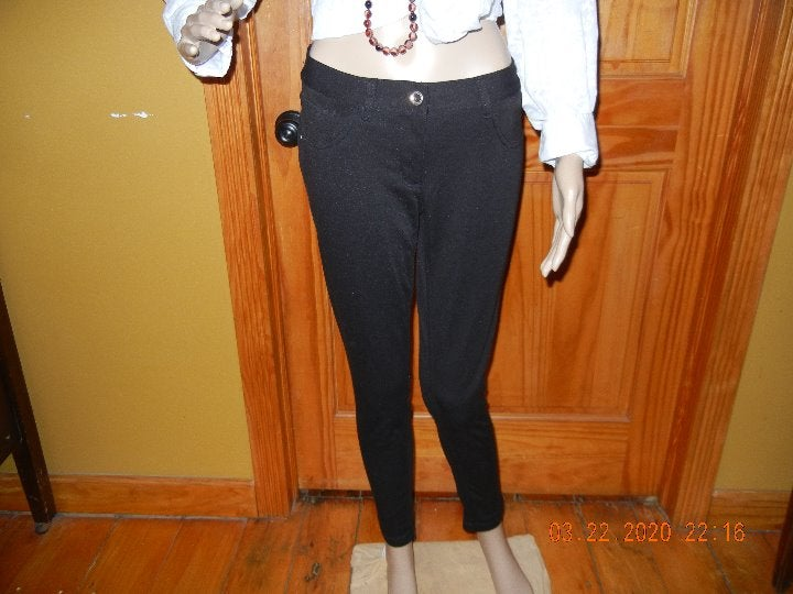 Casual Jeggings Bling Buttons Juniors 11