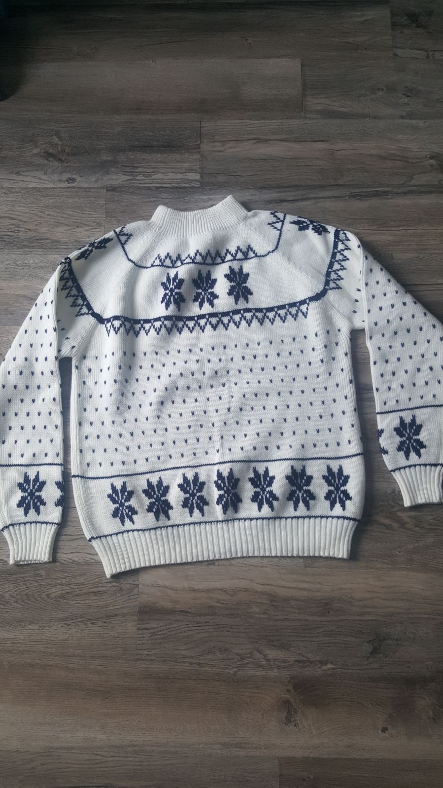 Thick vintage winter sweater