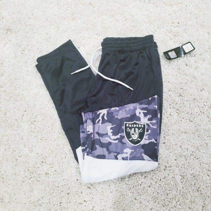 Women's NFL Raiders jogger pants size M