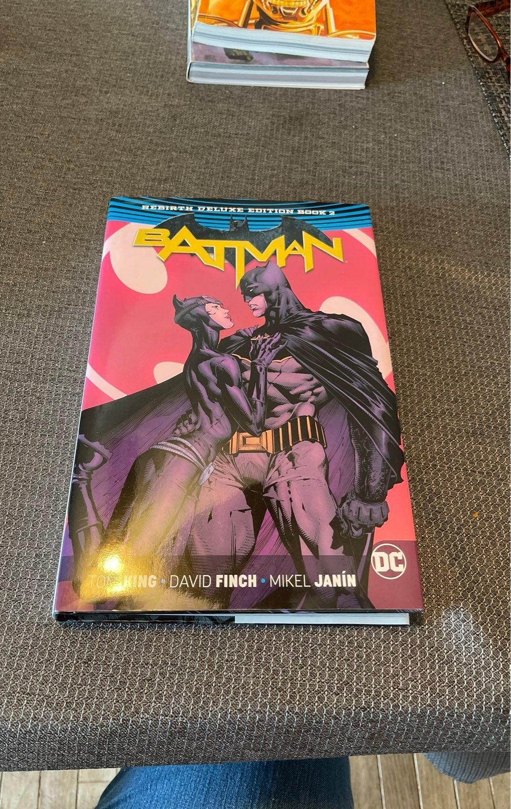 Batman Rebirth Deluxe Edition Book2