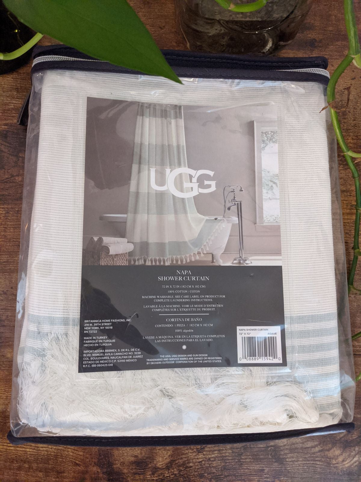 Ugg Napa Shower Curtain