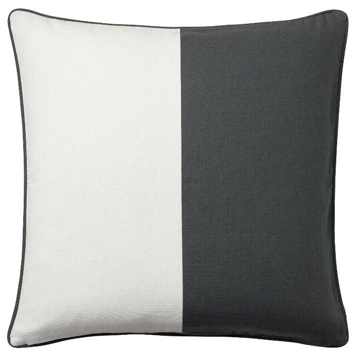 "Ikea Square Decorator Gurli Zipper Pillow Cover ORANGE  20/"" x 20/""  50cm NEW"