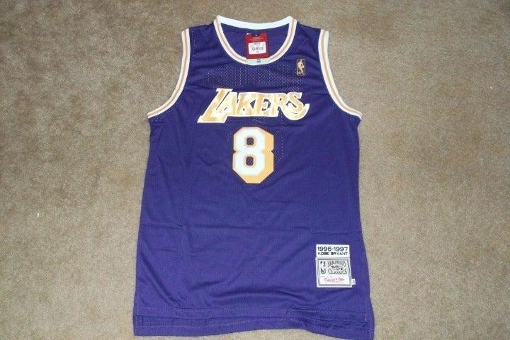 Kobe Bryant #8 Lakers Jersey Classic XL