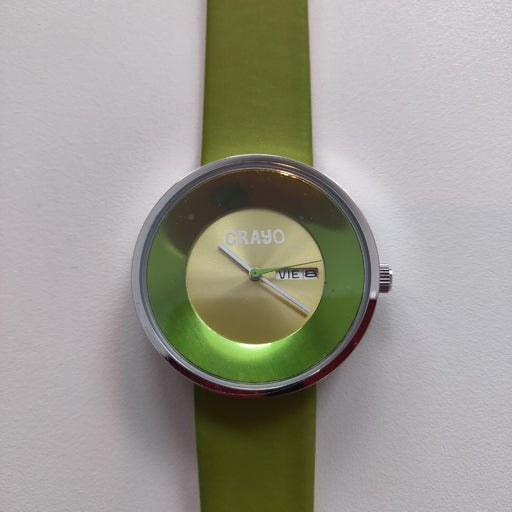 Crayo green watch