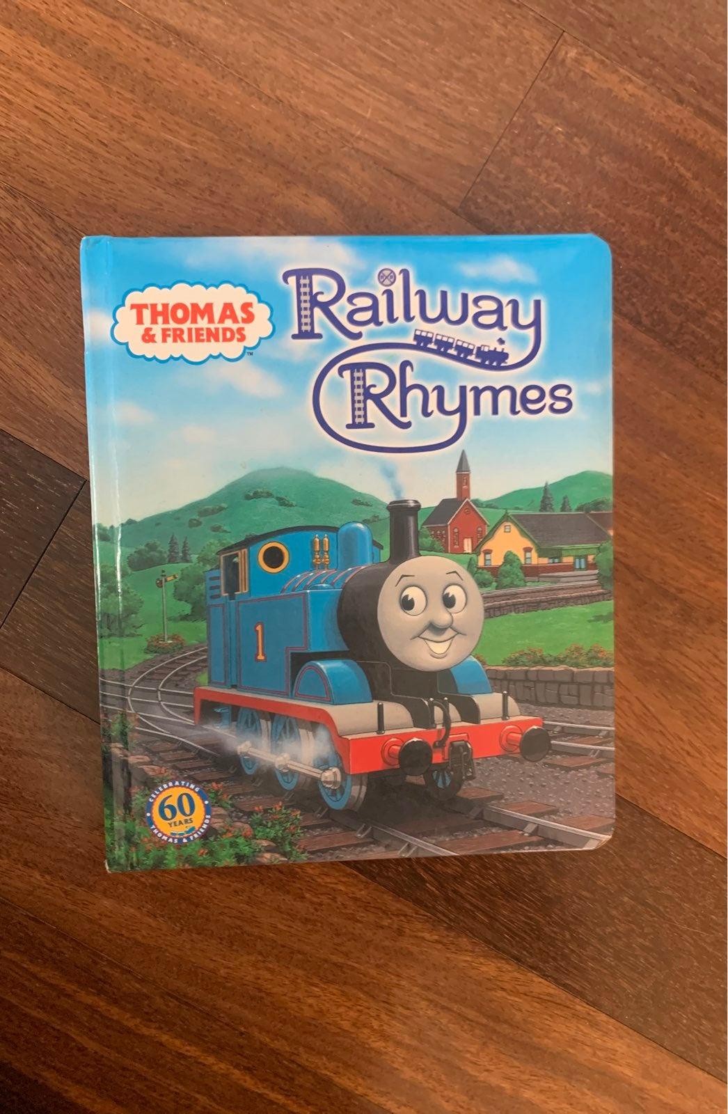 Thomas the Train Railway Rhymes Book
