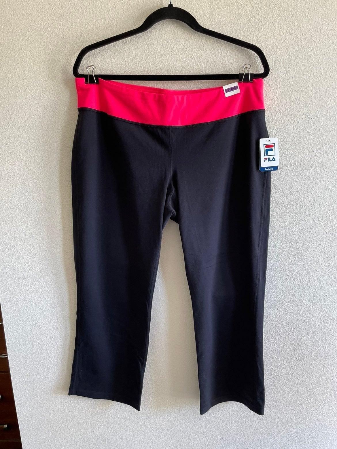 Boot Cut Capri Yoga Pants