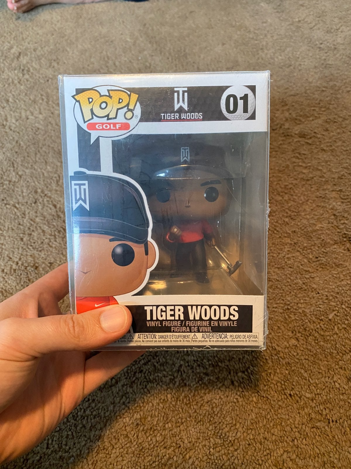 Tiger Woods Funko Pop