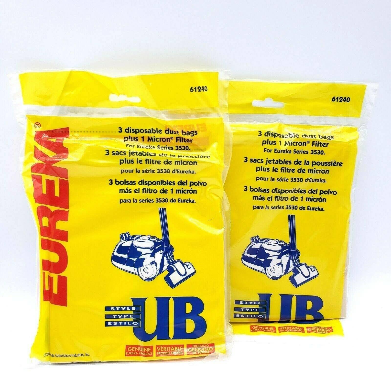 (6) Eureka UB Vacuum Filter Bags 61240